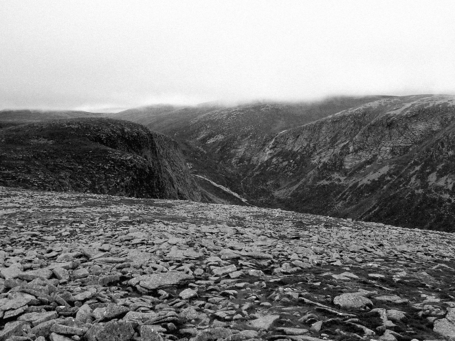 Broad cairn and loch muick stravaiging