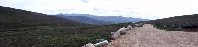 Mount Keen Stravaiging Fungle road Wild Ride 4