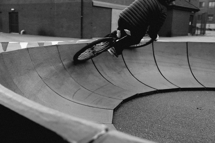 Portable pump track street sport aberdeen Stravaiging northfield berm high side bmx aberdeen 5