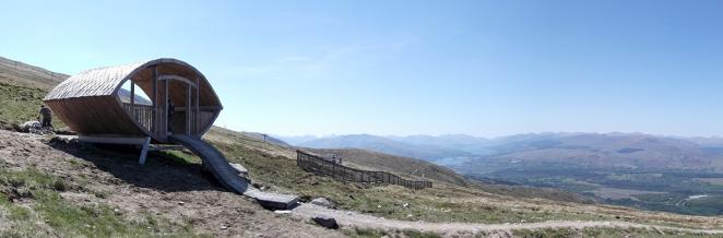 Downhill Mountain Bike World Cup Downhill Start Hut fort william