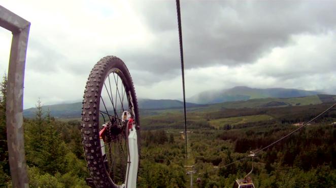 Nevis Range Gondola Accessed Mountain bike Trails