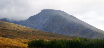 Ben Nevis rarely seen Stravaiging