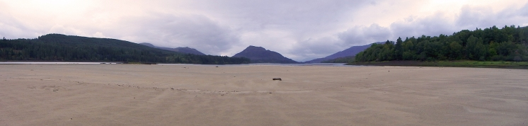 Laggan Loch Beach