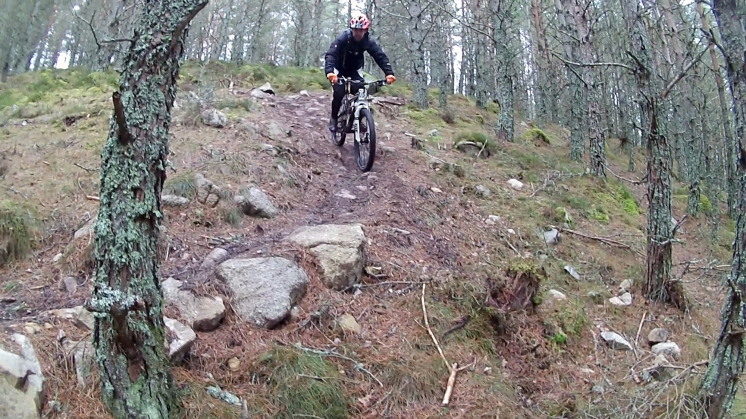 Christ Almight DH Trail High Burnside Aviemore