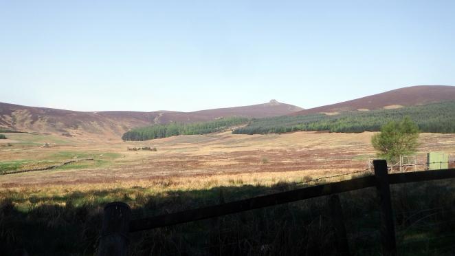 Clachnaben Mount Battock cycling