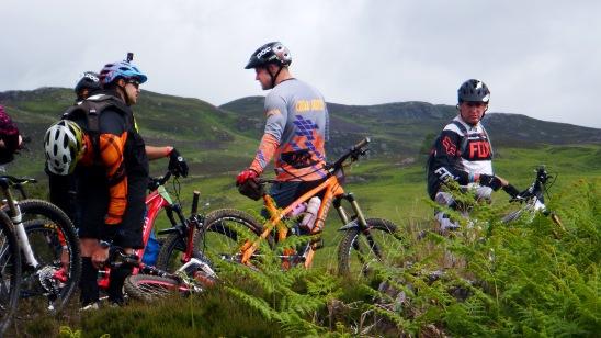 Enduro Mike Clyne Bianchi Scottish Enduro Series