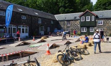 Event Village Comrie Croft