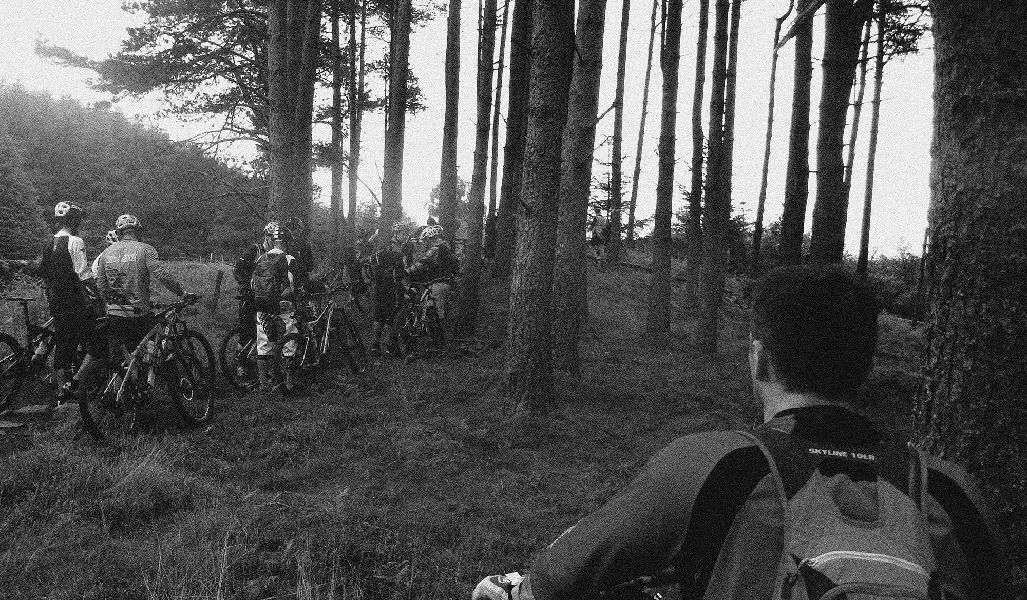 Stage 2 Enduro Comrie croft scotland
