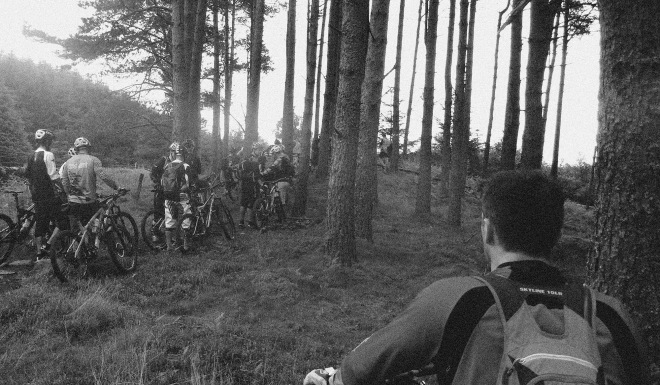 Stage 2 Enduro Comrie croft scotland