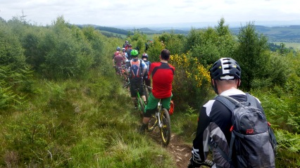 Enduro racing Scotland Stravaiging