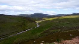 Glen Dye Mount Battock Cross Country Scotland