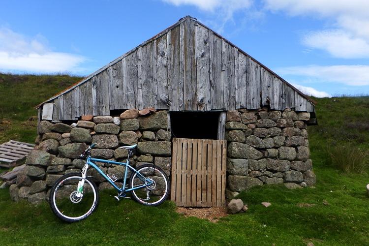 Glen Dye Mount Battock sheep shed