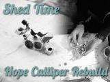 Hope Calloper Rebuild stravaiging mtb