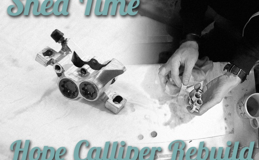 Hope Calliper Rebuild