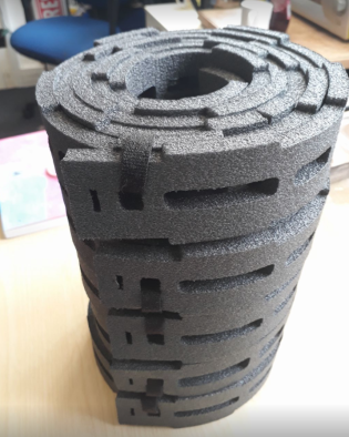Home made tyre insert 1 Stravaiging