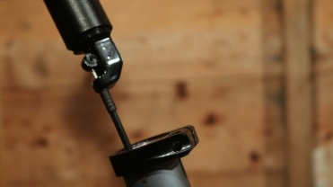 Attach to post Installing Brand X Ascend Dropper Stravaiging shed time